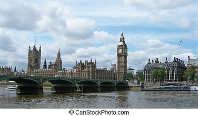 londres, westminster, royaume-uni, pont