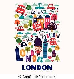 londyn, życie