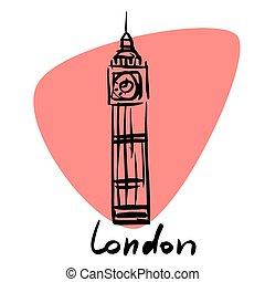 londyn, anglia, kapitał
