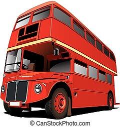 londyn, autobus