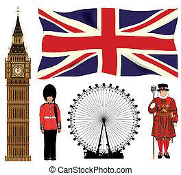londyn, ikony