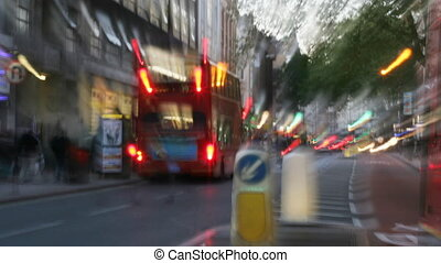 londyn, miejski, zacisk