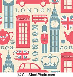 londyn, tło