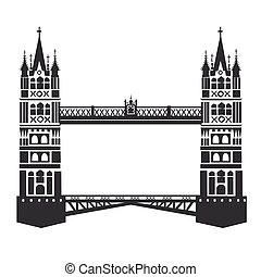 londyn wieża most
