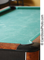 pool table - lone pool table in a recreation room