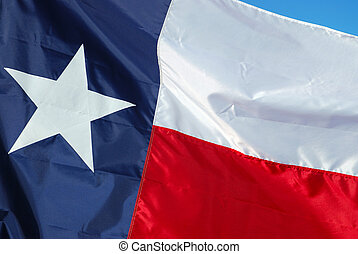 A new state flag is ready to raise up the flag pole.