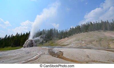 Lone Star Geyser Yellowstone