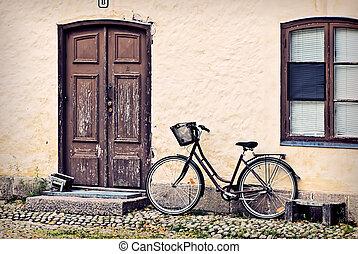 Lonely bike.