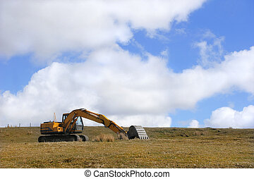 Lonely Digger