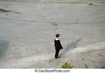 lonely graduate