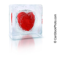 Lonely heart of ice