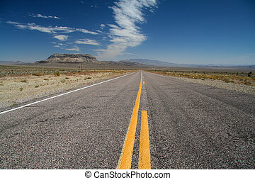 Lonely Street to the Death Valley