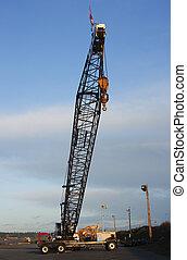 Long arm crane.