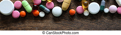 Long background of  medications
