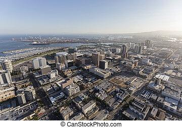 Long Beach California Aerial View