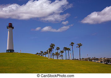Long Beach California Shoreline Park Lighthouse