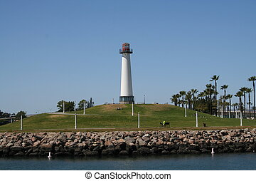 Long Beach Park - park in the harbor at Long Beach,...