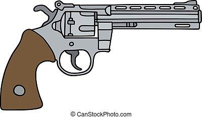 Long big revolver