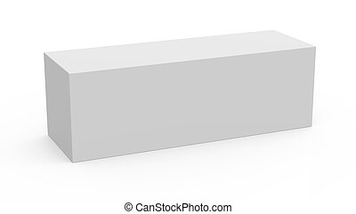 long box template box model