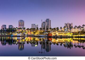 long, californie, plage