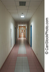 long, couloir
