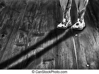 Long Cowboy Shadow.