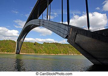 Long czech bridge