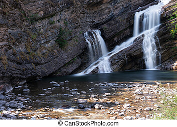 Waterton Lakes National Park, Alberta, Canada - Long...