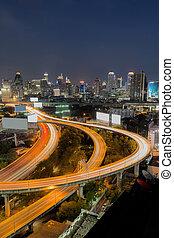 Express way in Bangkok