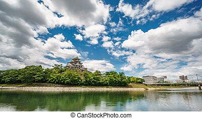 Long exposure of Okayama Caste in Japan - Long exposure ...