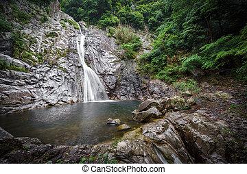 Waterfall in Kobe