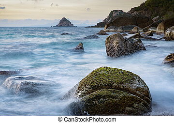 long exposure photography of beautiful sea scape koh tao ...