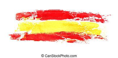 Long flag of Spain