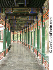 Long Gallery - The famous Covered Walkway in the Summer ...