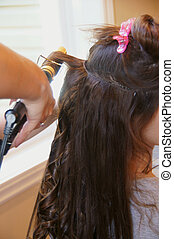 Long hair extension
