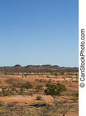 Long Highway in the Outback