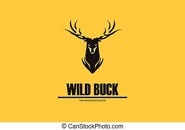 long horn elegant black buck