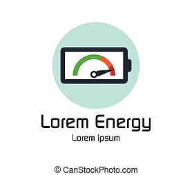 Long-lasting Battery Logo Design