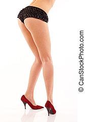 long legs in high heels - Beautiful long legs in high heels...