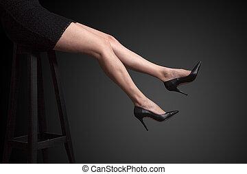 Long legs shoes