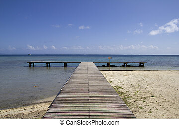 long ocean pier