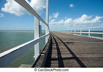 Long pier.