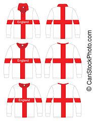 Long-sleeved sport shirt England