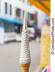 soft ice-cream cone