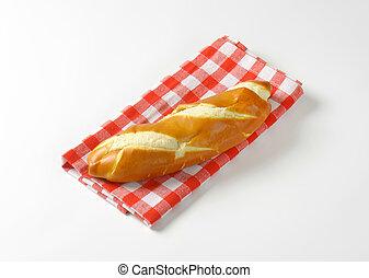 Long soft white roll