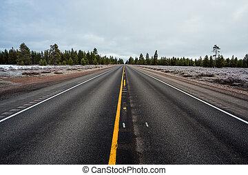 Long Straight Highway