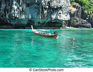 Long Tail Boat in Phuket, Thailand