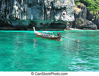Long Tail Boat in Phuket, Thailand