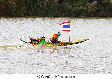 Long-tailed boat