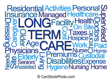 Long Term Care Word Cloud